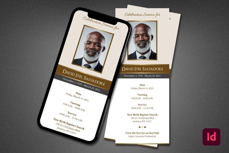 Golden Life Funeral Info Sheet