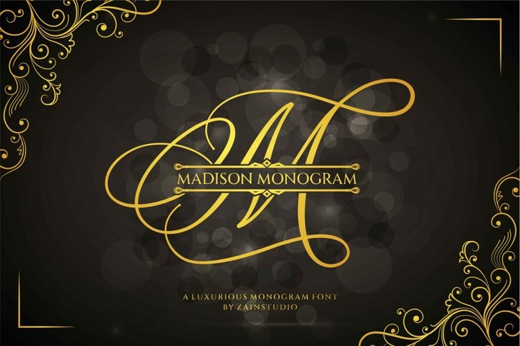 Madison Monogram example image 1