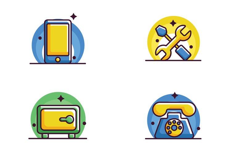 Modern 0.6 Bundle Business Icon
