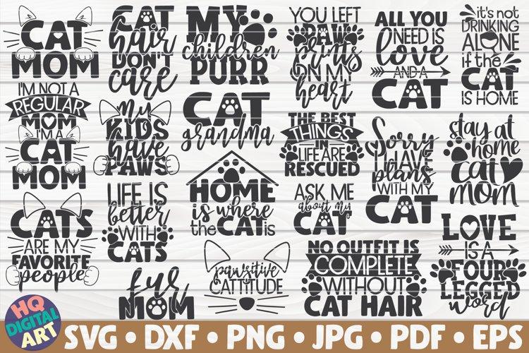 Download Cat Mom Quotes Svg Bundle 20 Designs 565317 Cut Files Design Bundles