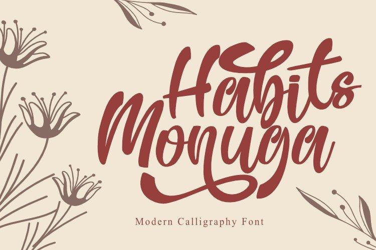 Habits Monuga example image 1