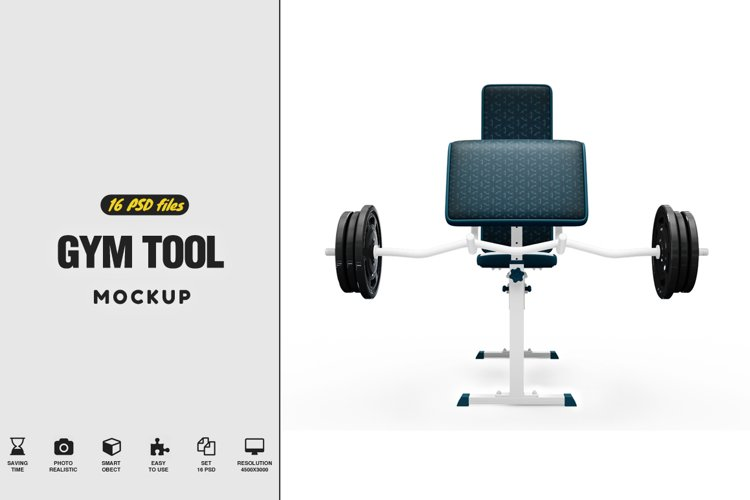 Gym Tool Mockup example image 1