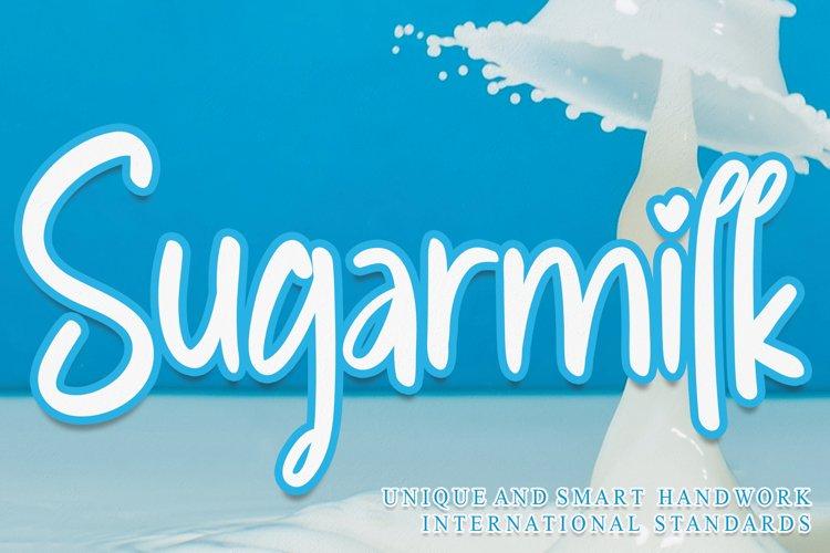 Sugarmilk example image 1