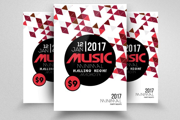 Music Party Flyer example image 1