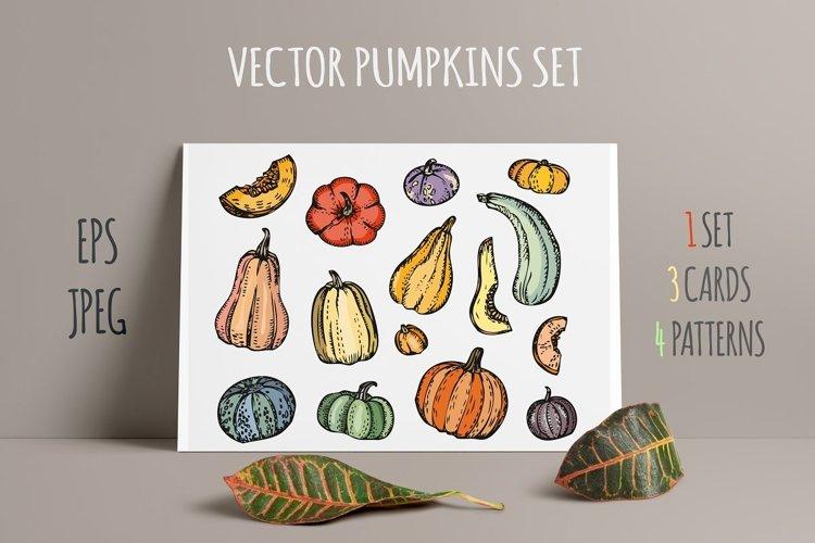 Pumpkins set example image 1