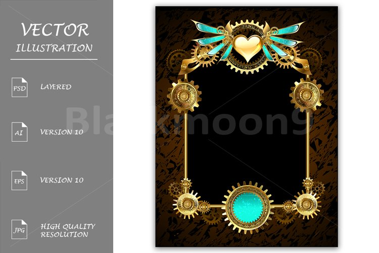 Design with Gears ( Steampunk ) example image 1