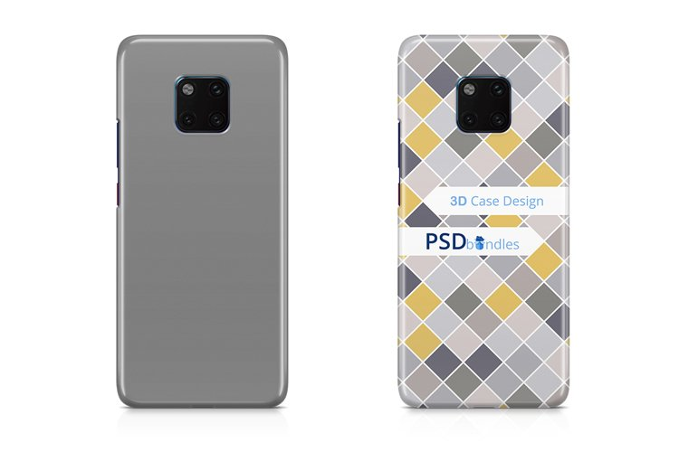 Huawei Mate 20 Pro 3d Case Design Mock-up example image 1
