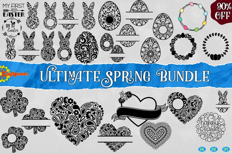 Ultimate Spring Bundle Easter Bunny Valentine St Patrick