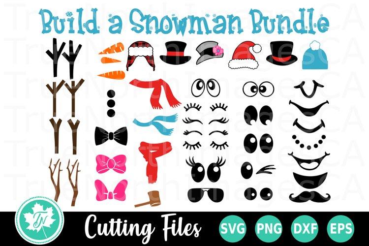 Snowman SVG Bundle | Build Your Own Snowman SVG example image 1