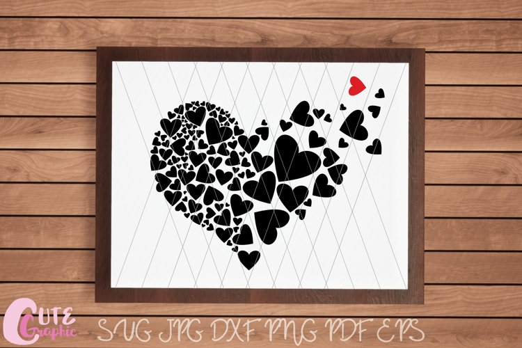 21+ Love Heart Cutting/ Printing Files PNG