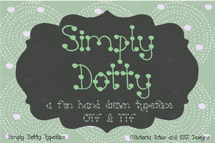 Simply Dotty Font