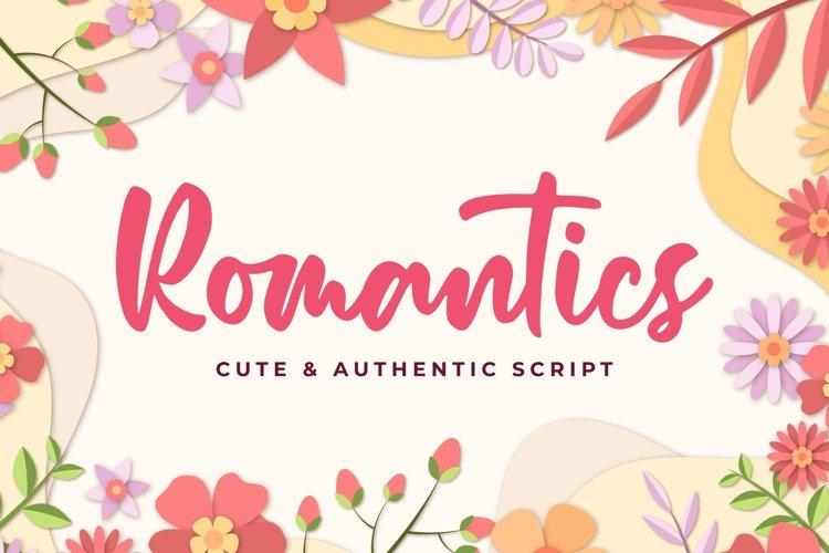 Romantics example image 1