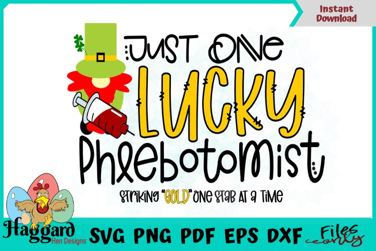 One lucky Phlebotomist