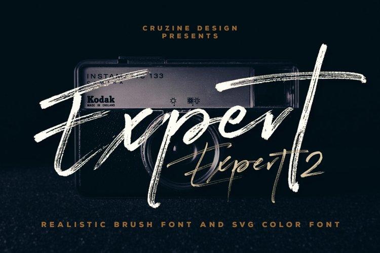 Expert Brush & SVG Font example image 1
