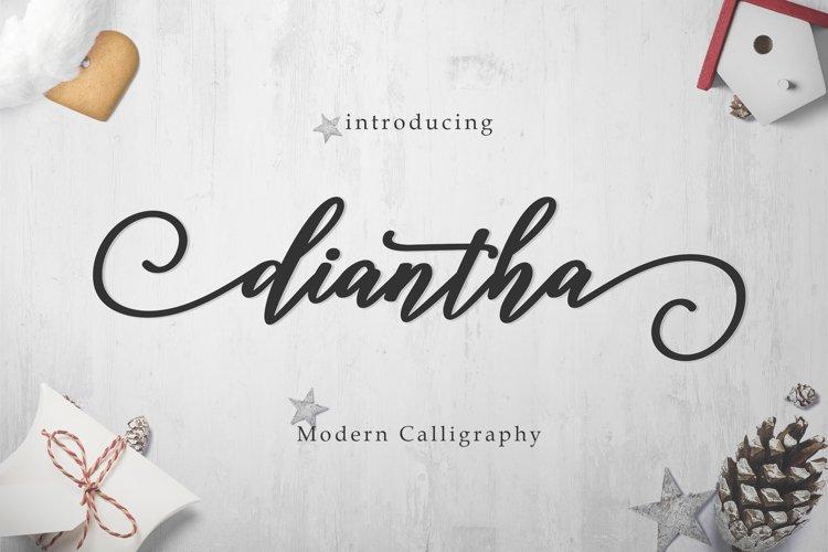 Diantha Script example image 1