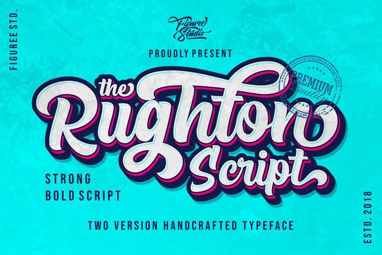 The Rughton Script example image 1