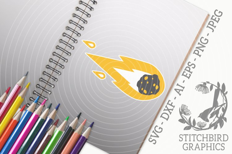 Asteroid SVG, Silhouette Studio, Cricut, Eps, Dxf, AI, PNG