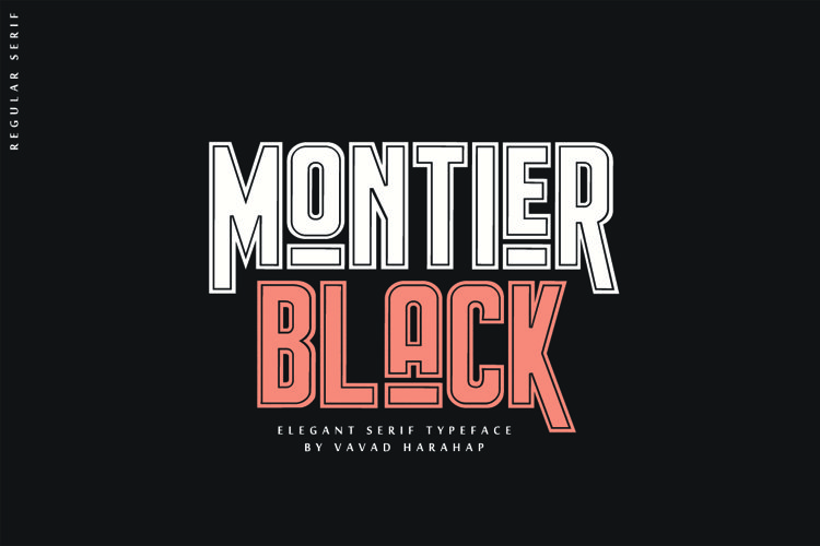 Montier Black example image 1