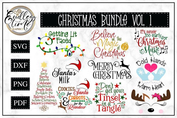 Christmas Bundle Vol 1 | 10 Fun Christmas SVGs