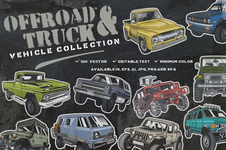 Offroad & truck Vehicle Collection example image 1