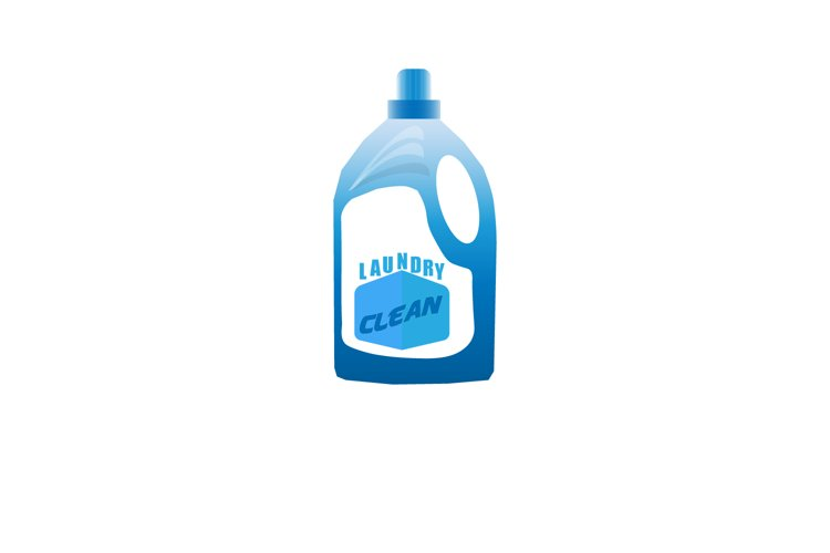 Laundry soap bottle