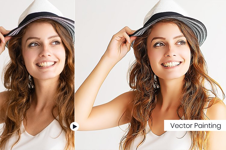 Vector Painting PS Actions example image 1