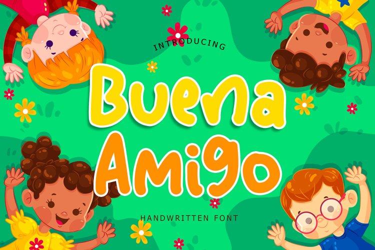 Buena Amigo Handwritten Font example image 1