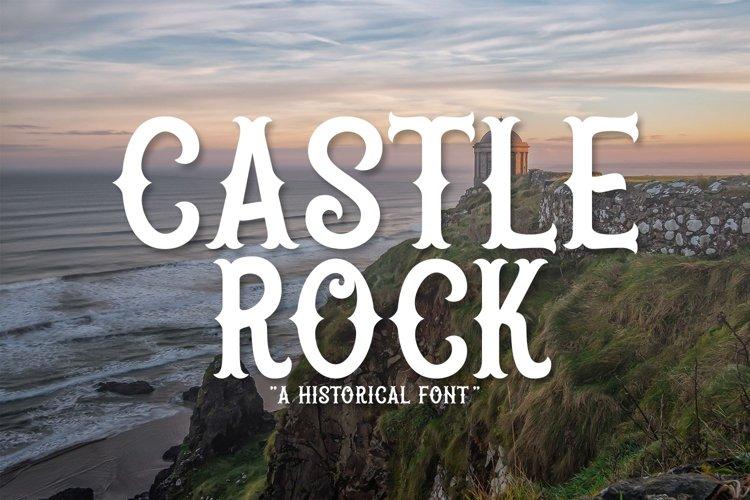 Web Font Castle Rock example image 1