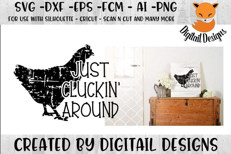 Chicken Love SVG Farm House SVG - Silhouette - Cricut