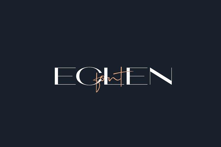 ECLEN font