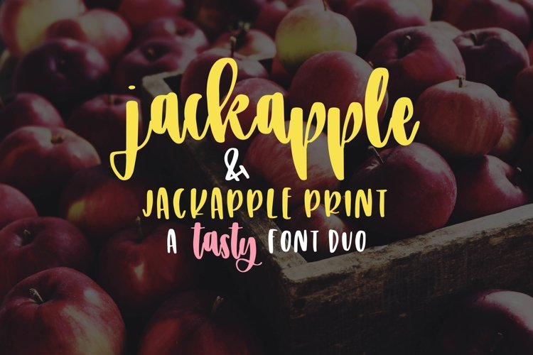 JackApple - A Tasty Font Duo example image 1