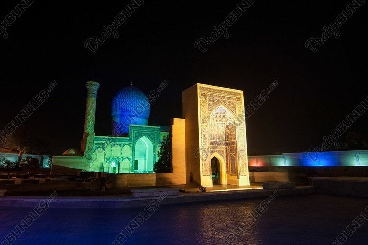 Ancient architecture of Central Asia. Samarkand, Uzbekistan example image 1