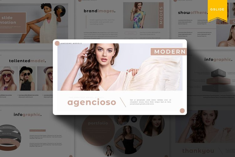 Agencioso | Google Slides Template example image 1