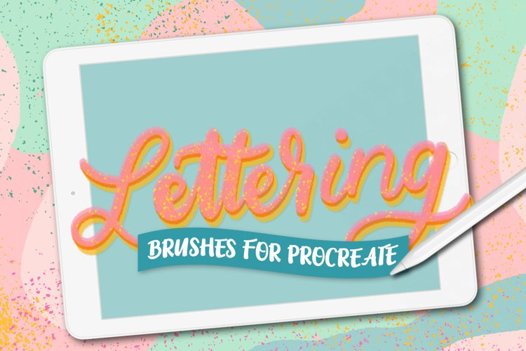 10 Procreate lettering brushes example image 1