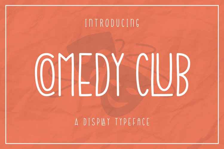 Web Font Comedy Club example image 1