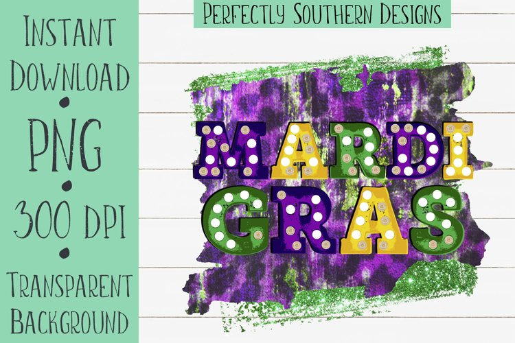 Mardi Gras Marquee - Sublimation Design