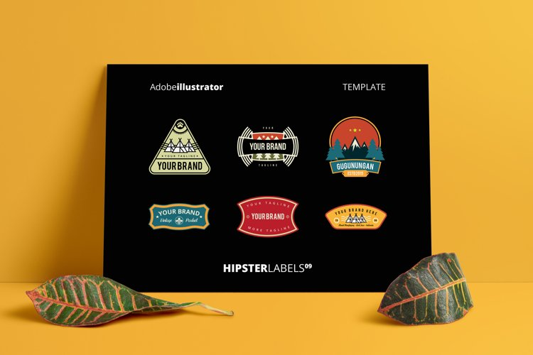 Hipsters Labels 09