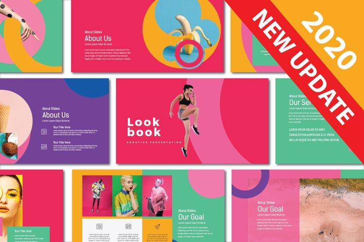Lookbook Pastel Keynote example image 1