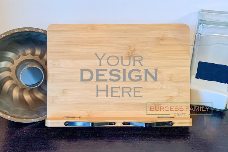 Cookbook | iPad | Recipe holder Vol III |Craft mock up