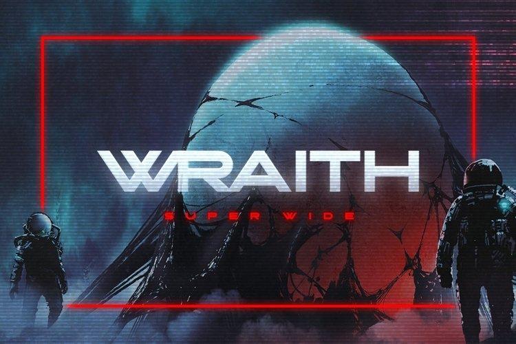 Wraith Typeface example image 1