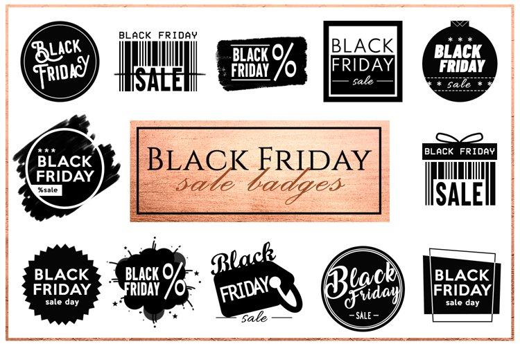 Black Friday - Sale Badges