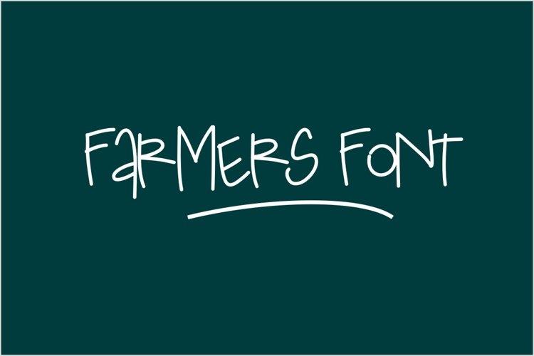 Farmers Font