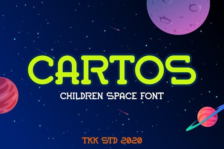 Cartos Modern - Kids Gaming Font example image 1