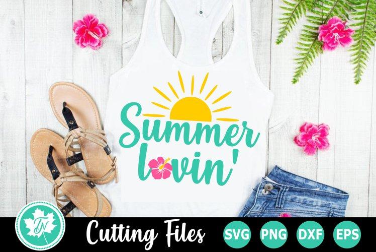 Summer Lovin - A Summer SVG Cut File