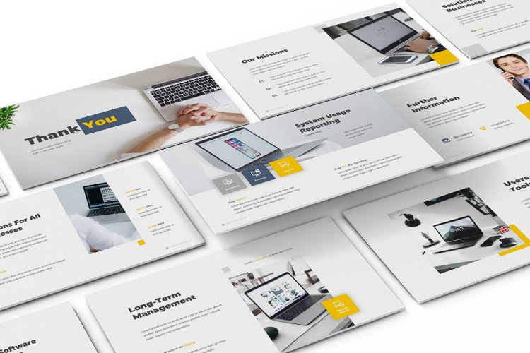 IT Support Google Slides Template example image 1
