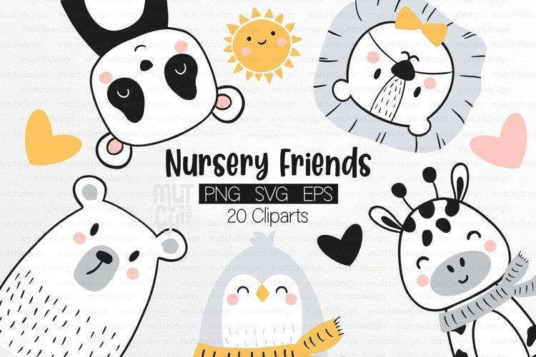 Cute Nursery Animal Graphics