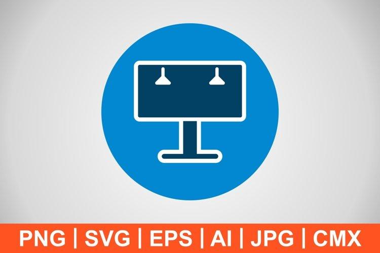 Vector Billboard Icon example image 1
