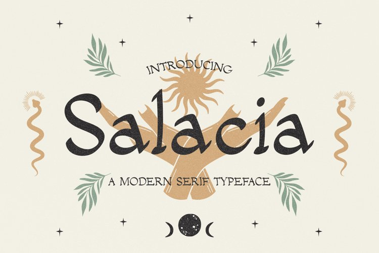 Salacia - Modern Serif Typeface