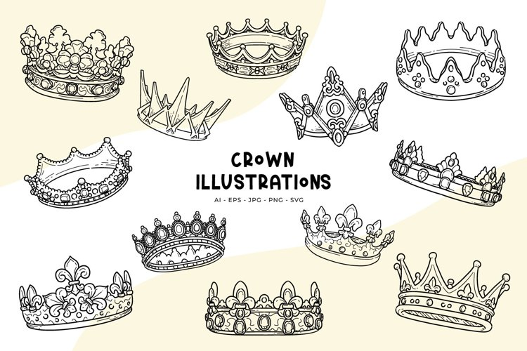 Crown illustrations
