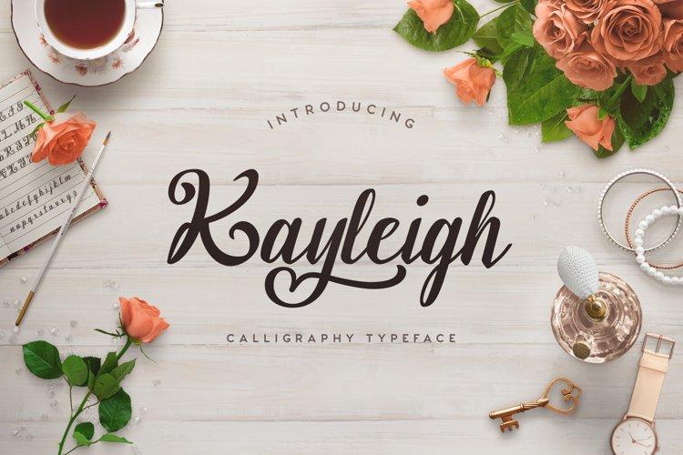 Web Font Kayleigh example image 1
